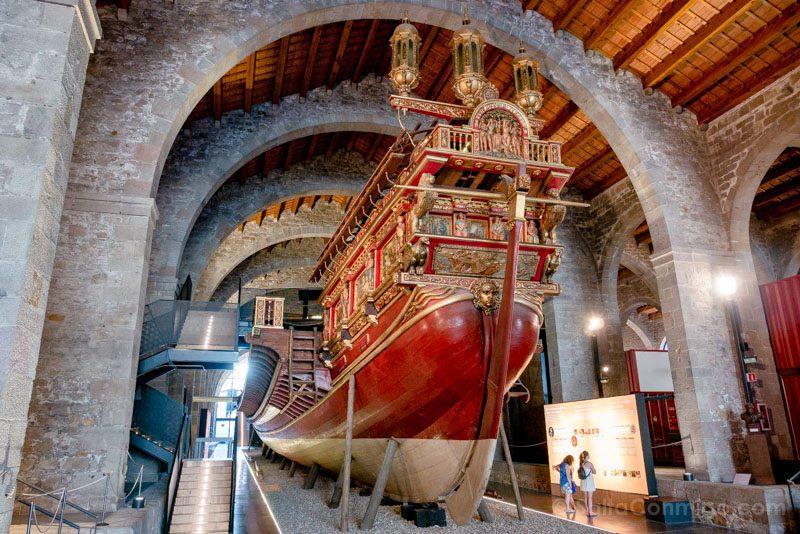 Que Ver en Barcelona 3 Dias Museo Maritimo