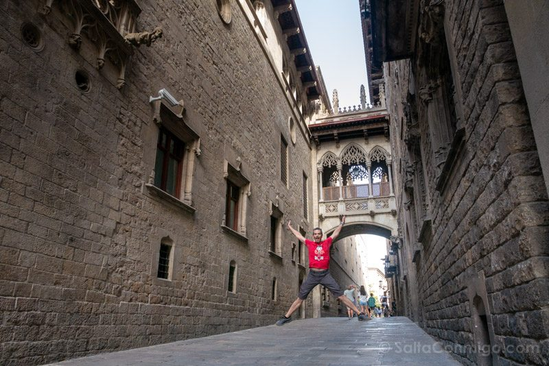 Que Ver en Barcelona 3 Dias Pont Bisbe Salto