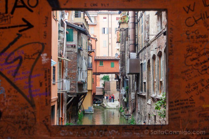 Que Ver en Bolonia Italia 3 Dias Finestrella