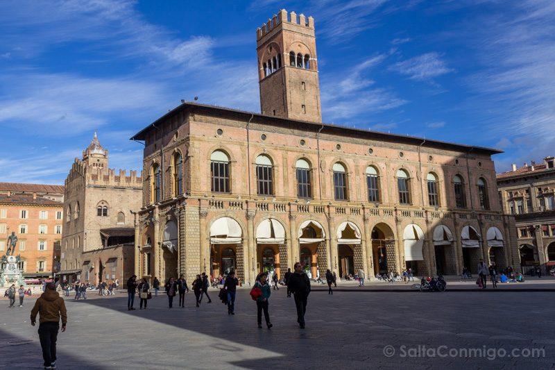 Que Ver en Bolonia Italia 3 Dias Piazza Maggiore