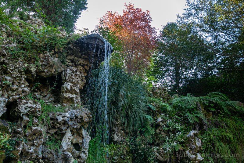 Quinta da Regaleira Sintra Cascada Lago Cascada