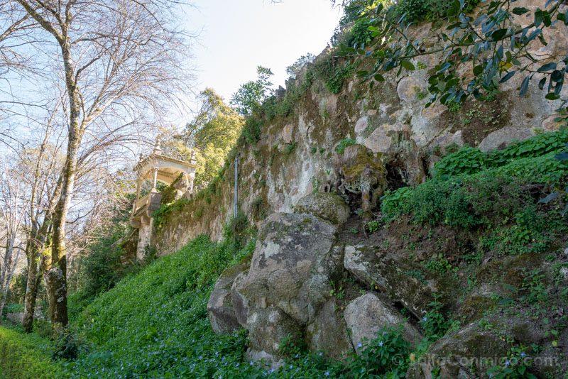 Quinta da Regaleira Sintra Muralla