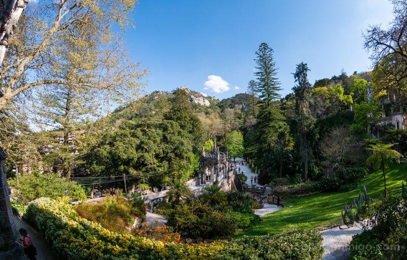 Quinta da Regaleira Sintra Palacio Vista