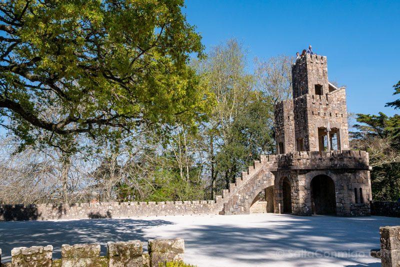 Quinta da Regaleira Sintra Zigurate