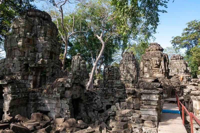 Templos Camboya Banteay Chhmar Pasarelas