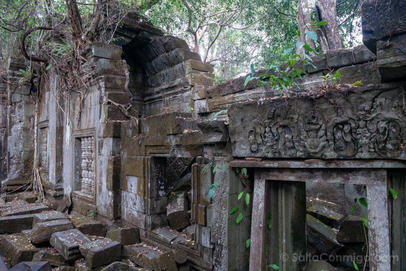 Templos Camboya Beng Mealea Relieves Rocas