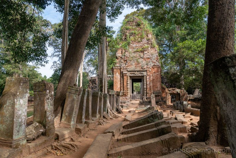 Templos Camboya Koh Ker Torre