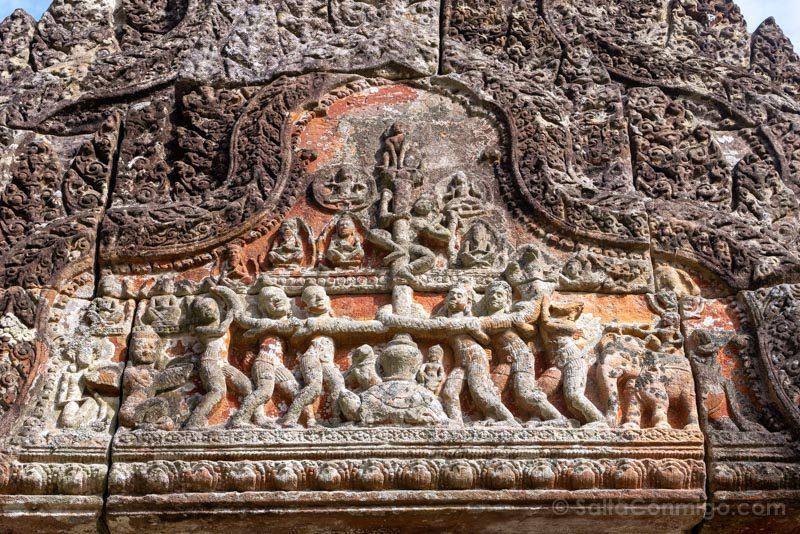 Templos Camboya Prasat Preah Vihear Oceano Leche