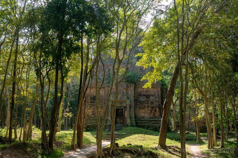 Templos Camboya Sambor Prei Kuk Arboles Templo