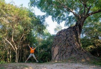 Templos Camboya Sambor Prei Kuk Salto