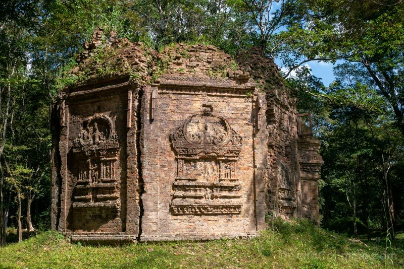 Templos Camboya Sambor Prei Kuk Templo