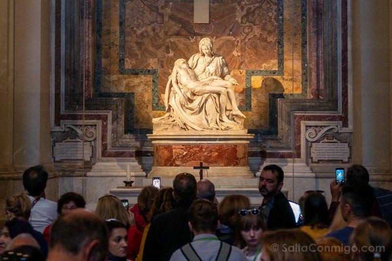 Basilica San Pedro Roma Piedad Miguel Angel Gente