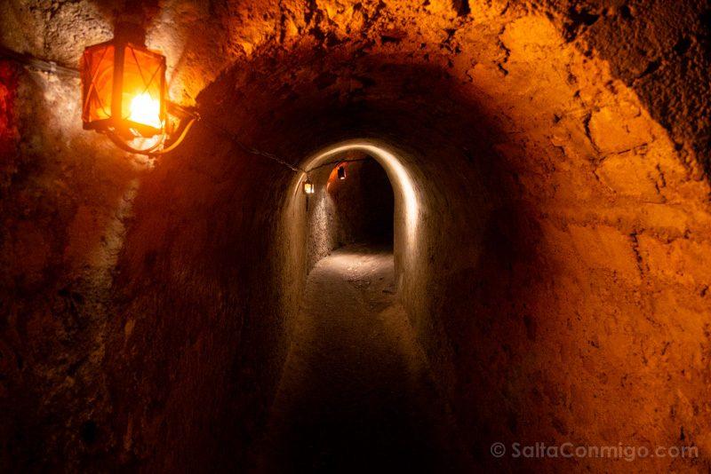 Castillo Meung-sur-Loire Tunel