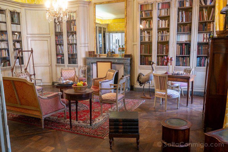 Castillo Meung-sur-Loire Biblioteca