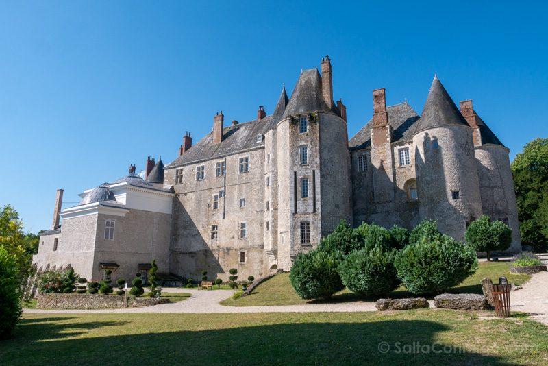 Castillo Meung-sur-Loire Fachada Medieval