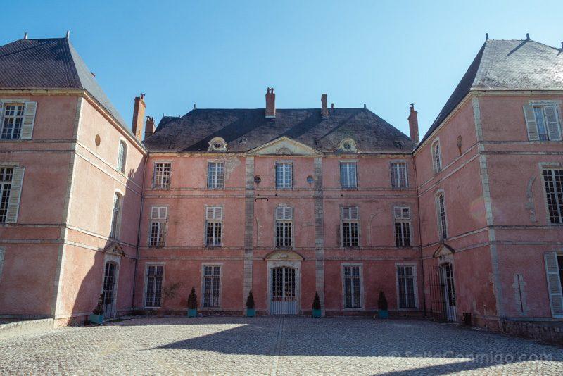 Castillo Meung-sur-Loire Fachada Neoclasica