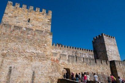 Castillo de San Jorge Lisboa Murallas