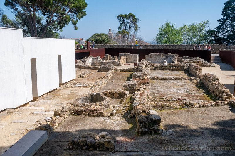 Castillo de San Jorge Lisboa Yacimiento Arqueologico