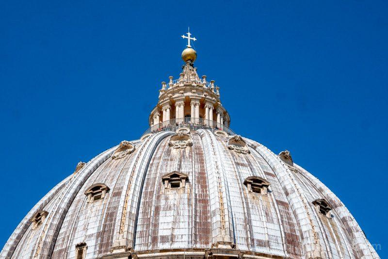 Cupula San Pedro Roma Abajo