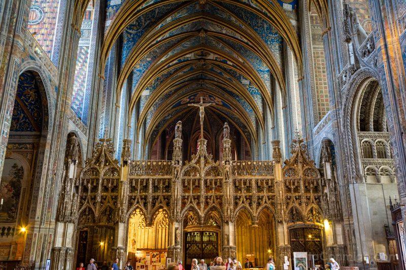 Que Ver en Albi Catedral Santa Cecilia Altar