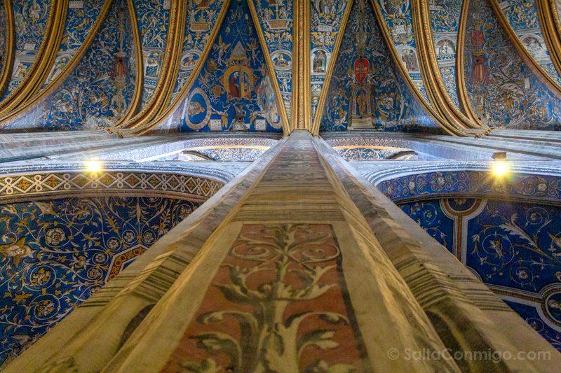 Que Ver en Albi Catedral Santa Cecilia Techo Pintado