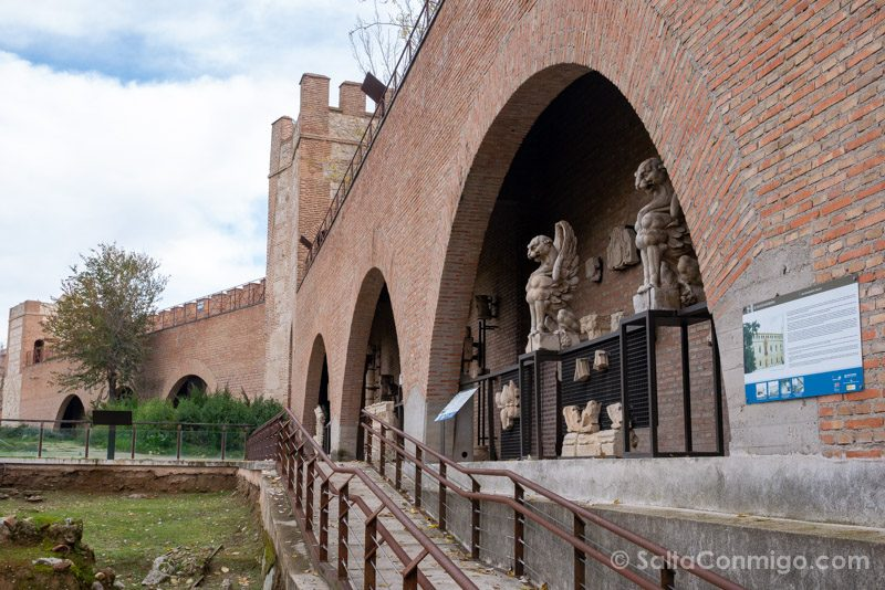 Que Visitar en Alcala de Henares Muralla Antiquarium