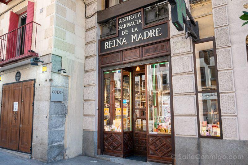 Que Ver en Madrid de los Austrias Farmacia Reina Madre