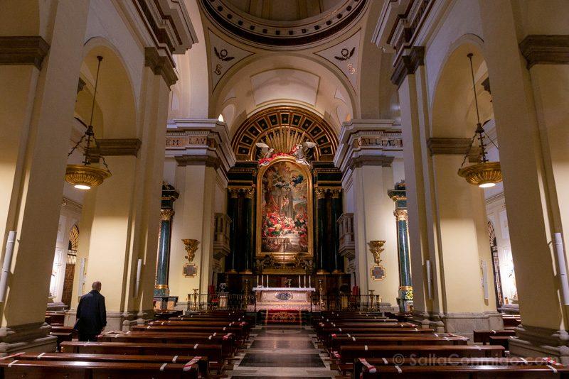 Que Ver en Madrid de los Austrias Iglesia San Gines Interior