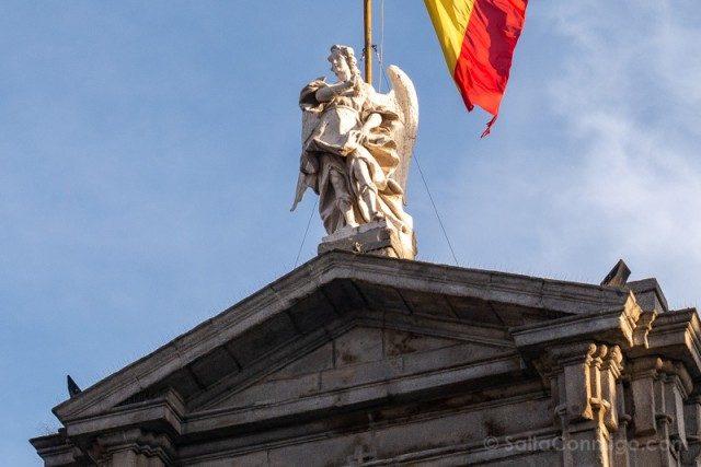 Que Ver en Madrid de los Austrias Palacio Santa Cruz Angel
