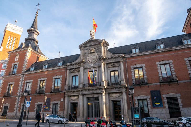 Que Ver en Madrid de los Austrias Palacio Santa Cruz