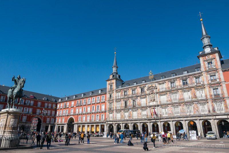 Que Ver en Madrid de los Austrias Plaza Mayor