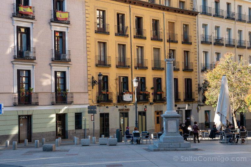 Que Ver en Madrid de los Austrias Plaza Ramales