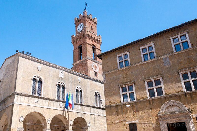 Que Ver en Pienza Catedral Piazza Pio II
