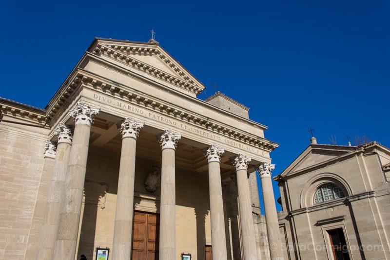 Que Ver en San Marino Basilica Exterior