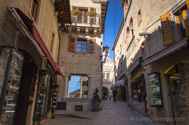 Que Ver en San Marino Calles