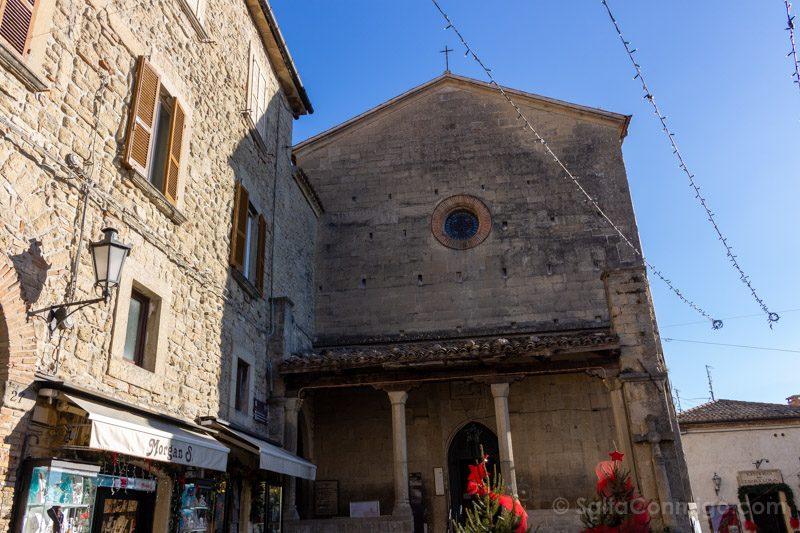 Que Ver en San Marino Iglesia San Francisco