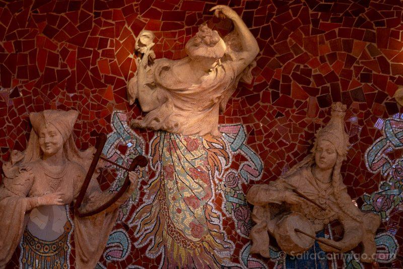 Visita Palau de la Musica Catalana Escenario Musa