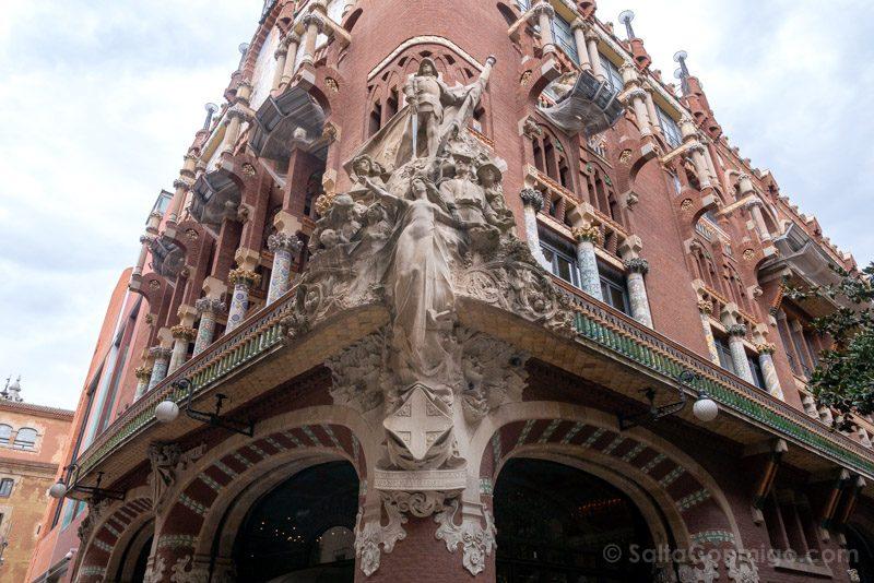 Visita Palau de la Musica Catalana Fachada Clasica