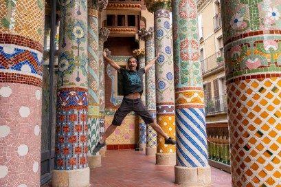 Visita Palau de la Musica Catalana Tribuna Salto