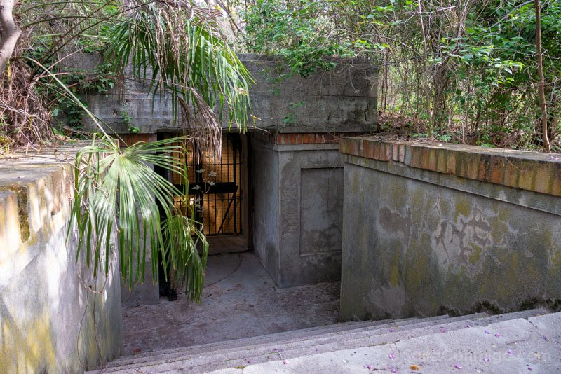 Bunker El Capricho Entrada Arriba