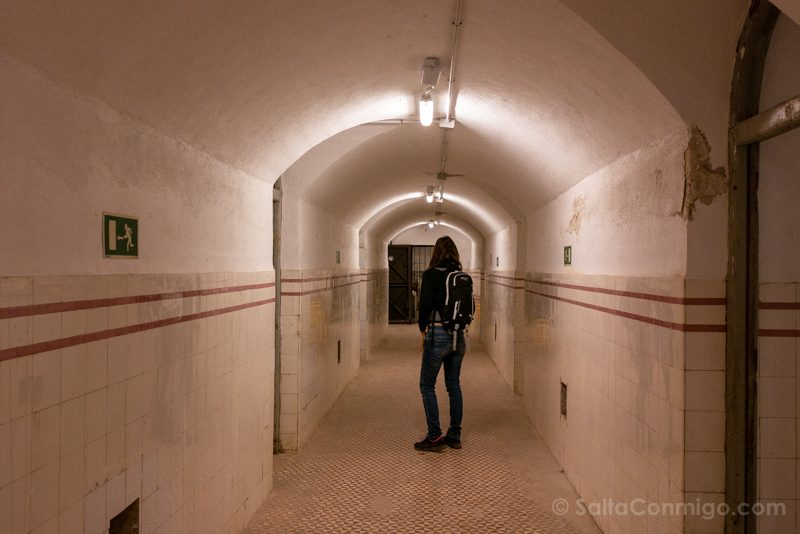 Bunker El Capricho Pasillo Central Sara