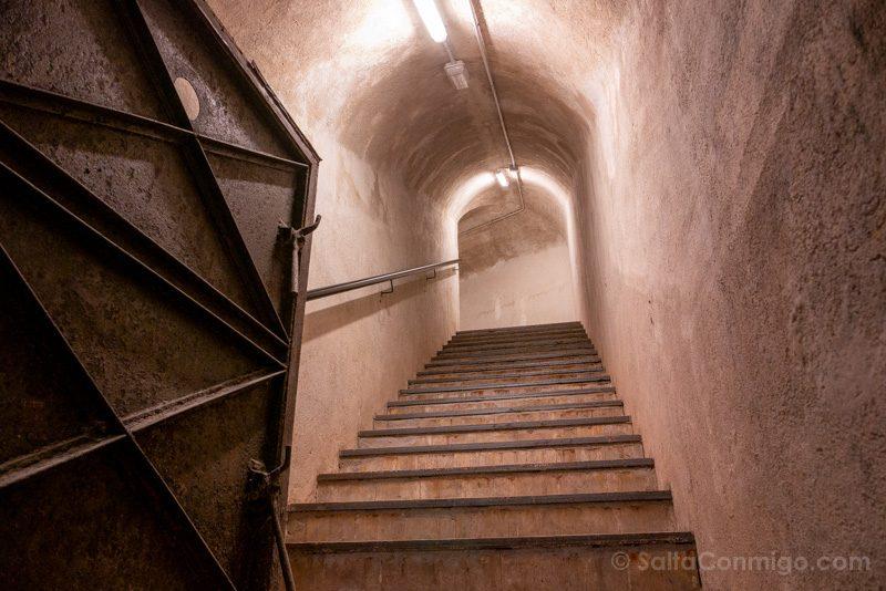 Bunker El Capricho Salida Contrapicado