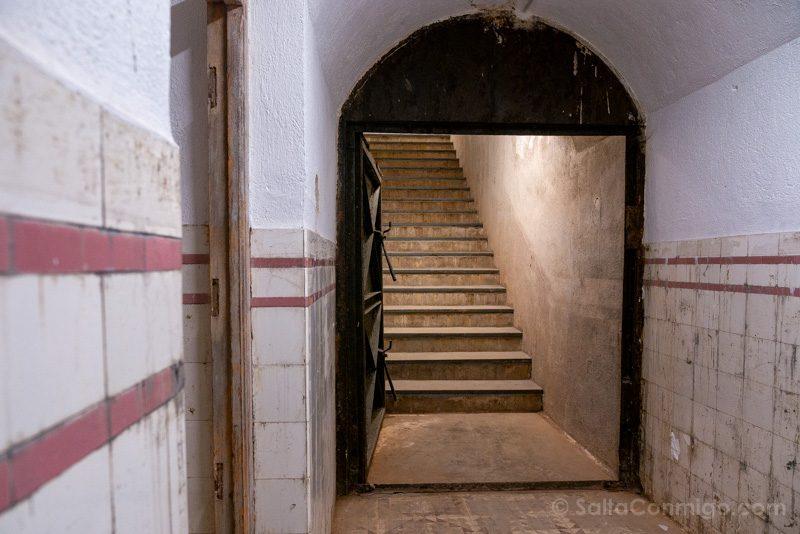 Bunker El Capricho Salida Lineas Rojas