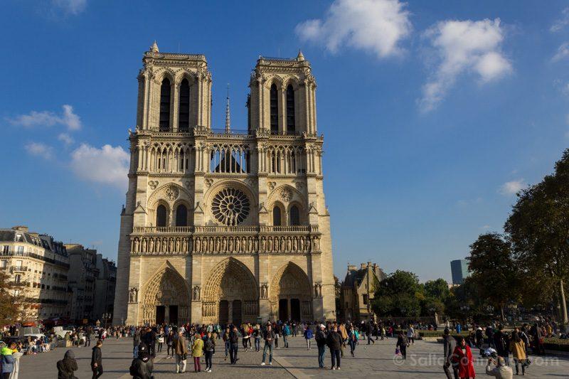 Edificios Religiosos Catedral Notre Dame Paris Francia