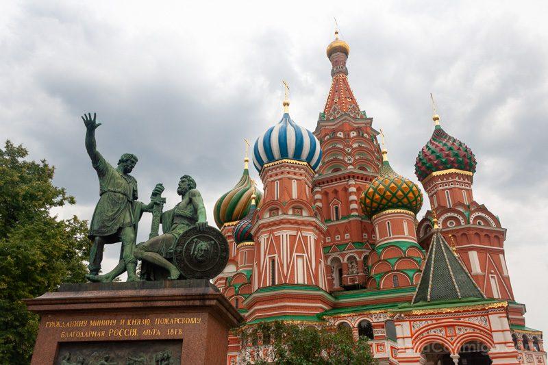 Edificios Religiosos Catedral San Basilio Moscu Rusia