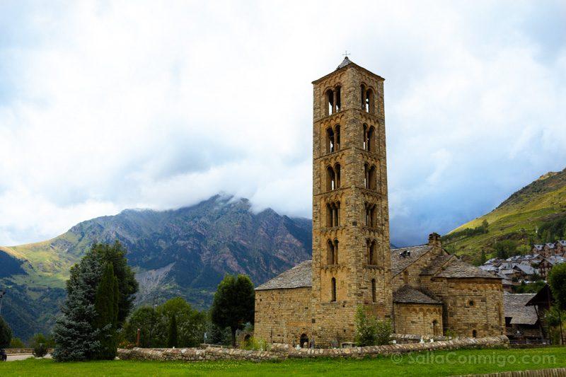 Edificios Religiosos Iglesia Sant Climent Taul Lleida Espana