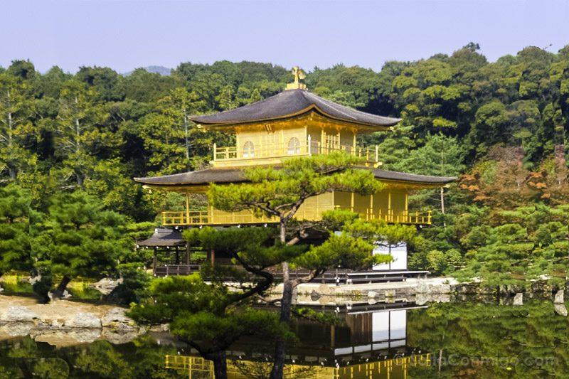 Edificios Religiosos Kinkau-ji Kioto Japon