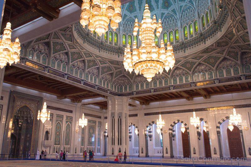 Edificios Religiosos Mezquita Sultan Qaboos Oman