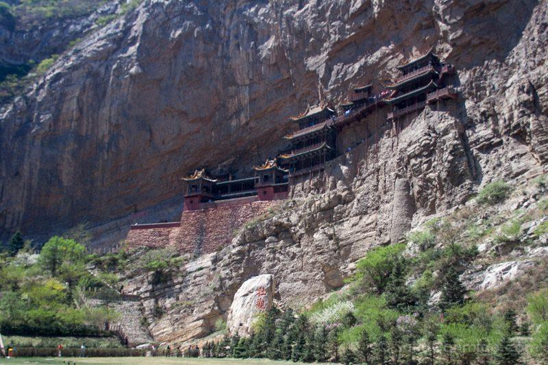 Edificios Religiosos Monasterio Colgante Datong China