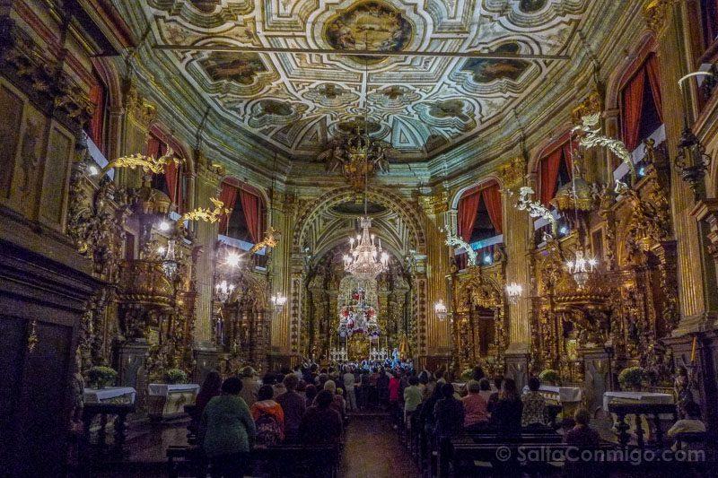 Edificios Religiosos Ouro Preto Brasil Nossa Senhora Pilar